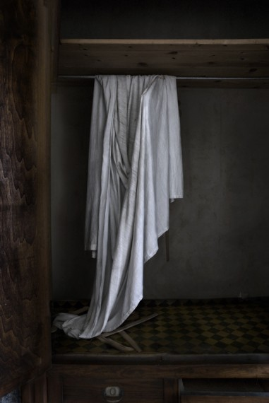 Abandonment Photography: Closet Phantom Having A Rest