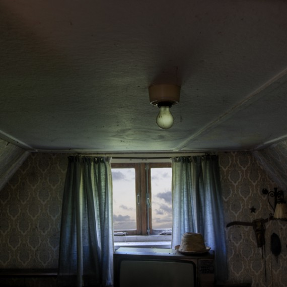 room with a hat
